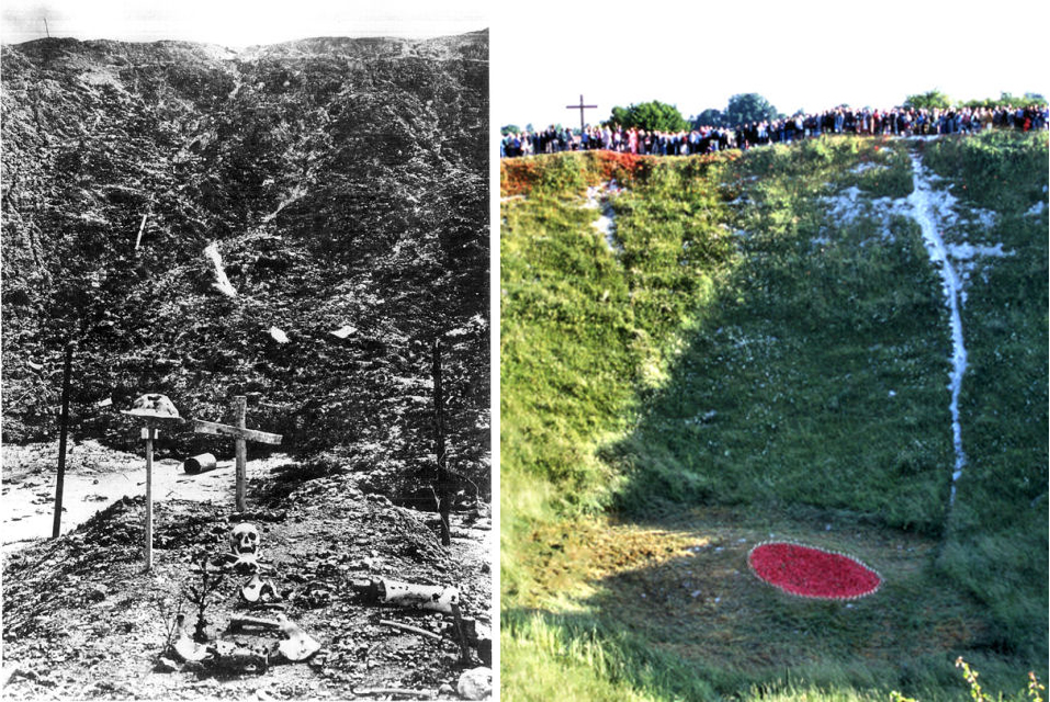 Lochnagar Crater day of somme